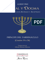 Moral y Dogma - Principe Del Tabernaculo - Grados 19 Al 24