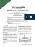 Substituição do Mercúrio por Água na Determinação da Densidade Aparente do Suporte Cerâmico Cru -.pdf