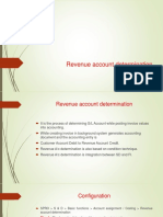 Revenue Account Determination