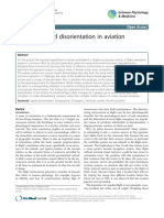 Orientation and Disorientation in Aviation