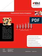 Research Report on Pharmaceutical Sector of Bangladesh - Update - 2013