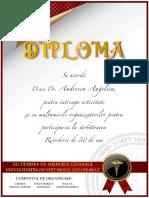 DIPLOME PARTICIPARE REVEDERE 20 DE ANI VASILE GOLDIS ARAD.DR.LEOVEANU T.IONUT HORIA