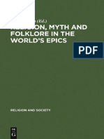 Religion, Myth, and Folklore in the World's Epics