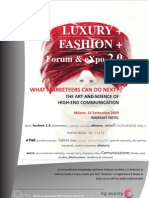 Luxury & Fashion 2.0 - Complete Brochure