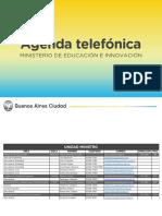 Agenda telefónica - actualizada Mayo 2018 - v2