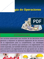 2. Estrategia de Operaciones