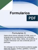 Formularios en HTML5