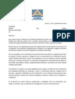 Segunda Carta Al Defensor del Pueblo - 27 de Septiembre