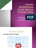 Asuhan Keperawatan Pasien Dengan Thyroid Strom
