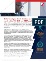 Better meet your Oracle database users' needs with a Dell EMC and HGST solution