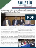 Boletín de la Dirección General de Presupuesto de la Rep. Dominicana 01/2018