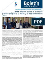 Boletín de la Dirección General de Presupuesto de la Rep. Dominicana 04/2018