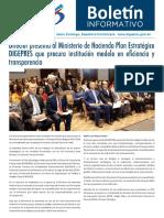 Boletín de la Dirección General de Presupuesto de la Rep. Dominicana 06/2018