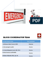 Lecture 1.1-Introduction to Emergency Block-Block Coordinator Team (2018)