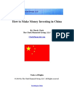 Investing in China
