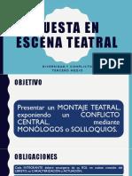 Puesta en Escena Teatral