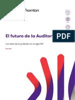 El Futuro de La Auditoría - Enero 2018