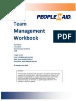 Team Management WorkBook