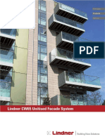 Lindner Curtain Wall CW65 Facade System