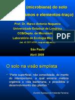 Ecologia Microbiana Del Suelo