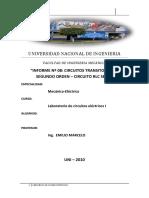 290127316 Informe de Laboratorio Circuitos I CIRCUITOS SEGUNDO ORDEN