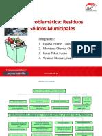 Arbol Residuos Solidos - Formulacion