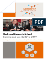 Blackpool Research School