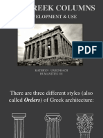 GREEK Column Use columns