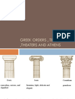 GREEK5 Temples Orders Theaters Athens