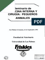 Seminario de Med y Cx en Peq Animales