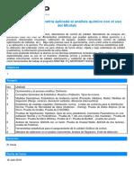 Curso Minitab-Estadistica y Quiometria Aplicada Al Análisis Químico Con El Uso Del Minitab-TECSUP