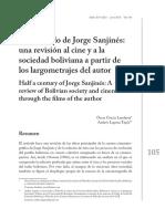 Medio siglo de Jorge Sanjinés