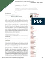 Literatura Para Secundaria_ Quiroga - Análisis de _A La Deriva