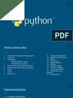 Temario - PythonBasico