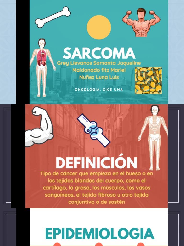 cáncer de próstata fibrosarcomada