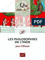 Les Philosophies de l'Inde - Filliozat Jean