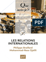 Les Relations Internationales - Braillard Philippe, Djalili Moh