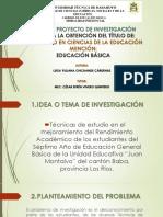 Diapositivas - Tesis - Luisa Chichande Cárdenas