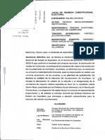NULIDAD DE LA ELECCIÓN DE HUIMILPAN