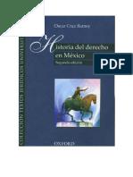 Historia Del Derecho Mexicano-oxford-oscar Barney