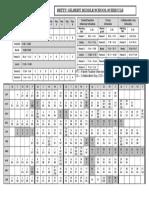 2018-2019 bell schedule with calendar pdf