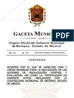 GACETA 05
