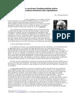 Reisman, George. Algunas Nociones Fundamentales Sobre La Naturaleza Benevola Del Capitalismo
