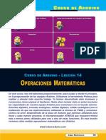 SE357 Lección 14 Operaciones Matemáticas
