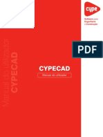 CYPECAD Manual Do Utilizador