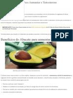 10 Super Alimentos Para Aumentar a Testosterona ➝ [ Sem Remédios ].pdf