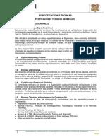 Especificaciones Tecnicas Act