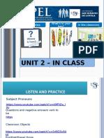 Week 2 Uni 2 in Class