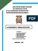Analisis y Elaboracion Del Trabajo Informe