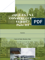 Yammine - ¿Qué Es Una Construcción Verde?, Parte III